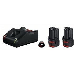 Batterie 12V 3Ah x2 + chargeur GAL12V-40 Professional - 1600A019RD BOSCH