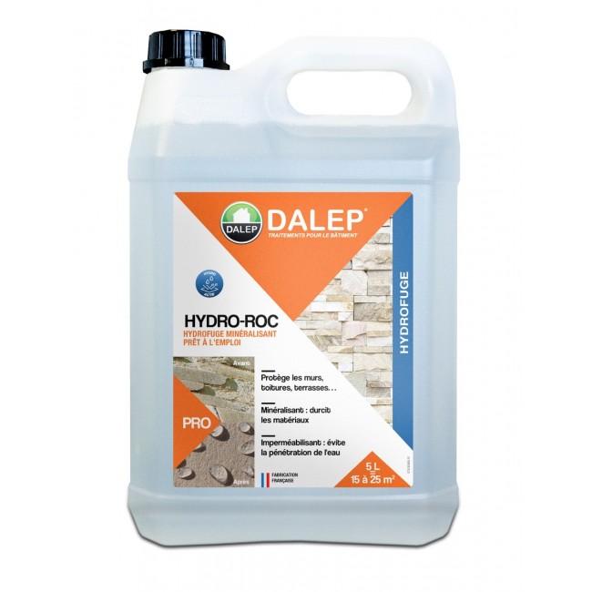 Hydrofuge minéralisant – durcit les supports – incolore – Hydro Roc DALEP