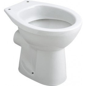Cuvette wc à poser NF - sortie horizontale - Publica SELLES