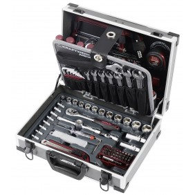 Mallette d'outils mixtes 1/4'' + 3/8'' - 109 pièces - 1043 KRAFTWERK