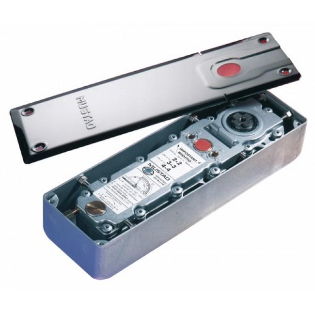 Pivot de sol Mustad 9210 TH Thermo+ pour porte aluminium NORMBAU