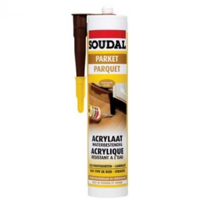 Mastic de rebouchage en acrylique pour parquet - 310 ml SOUDAL