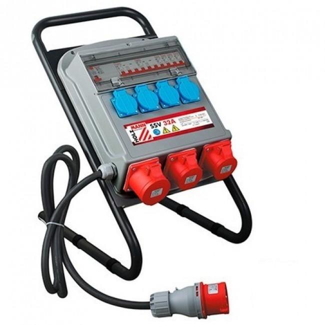 Coffret de chantier électrique - 32A - 400 volts - 50Hz HOLZMANN