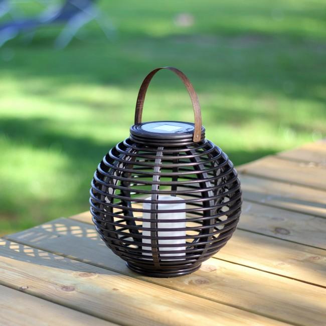 Lanterne tressée Rota - diamètre 22,5 cm MUNDUS