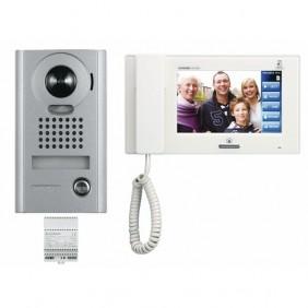 """Interphone vidéo avec moniteur tactile 7"""", pose en applique"""