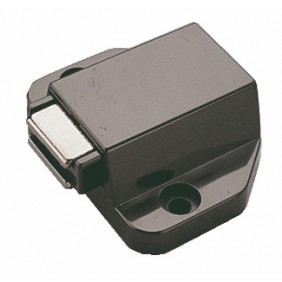 Loqueteau magnétique D7/GP 9 pour portes en verre HETTICH