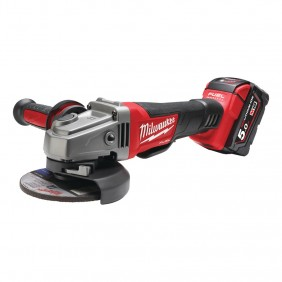 Meuleuse d'angle 125 mm M18 CAG125XPD-502X + 2 batteries lithium-ion MILWAUKEE