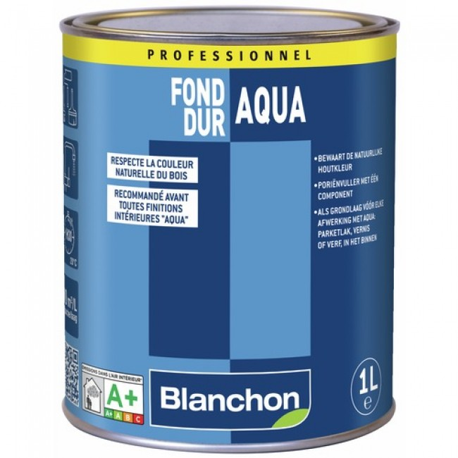 Fond dur - bouche pores - polyuréthane en phase aqueuse - Aqua BLANCHON