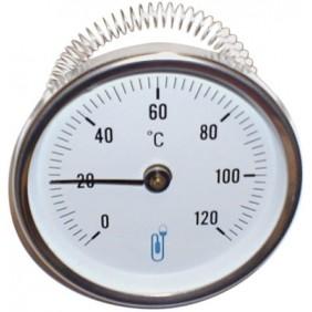 Thermomètre bimétallique à cadran applique Ø 80 DISTRILABO
