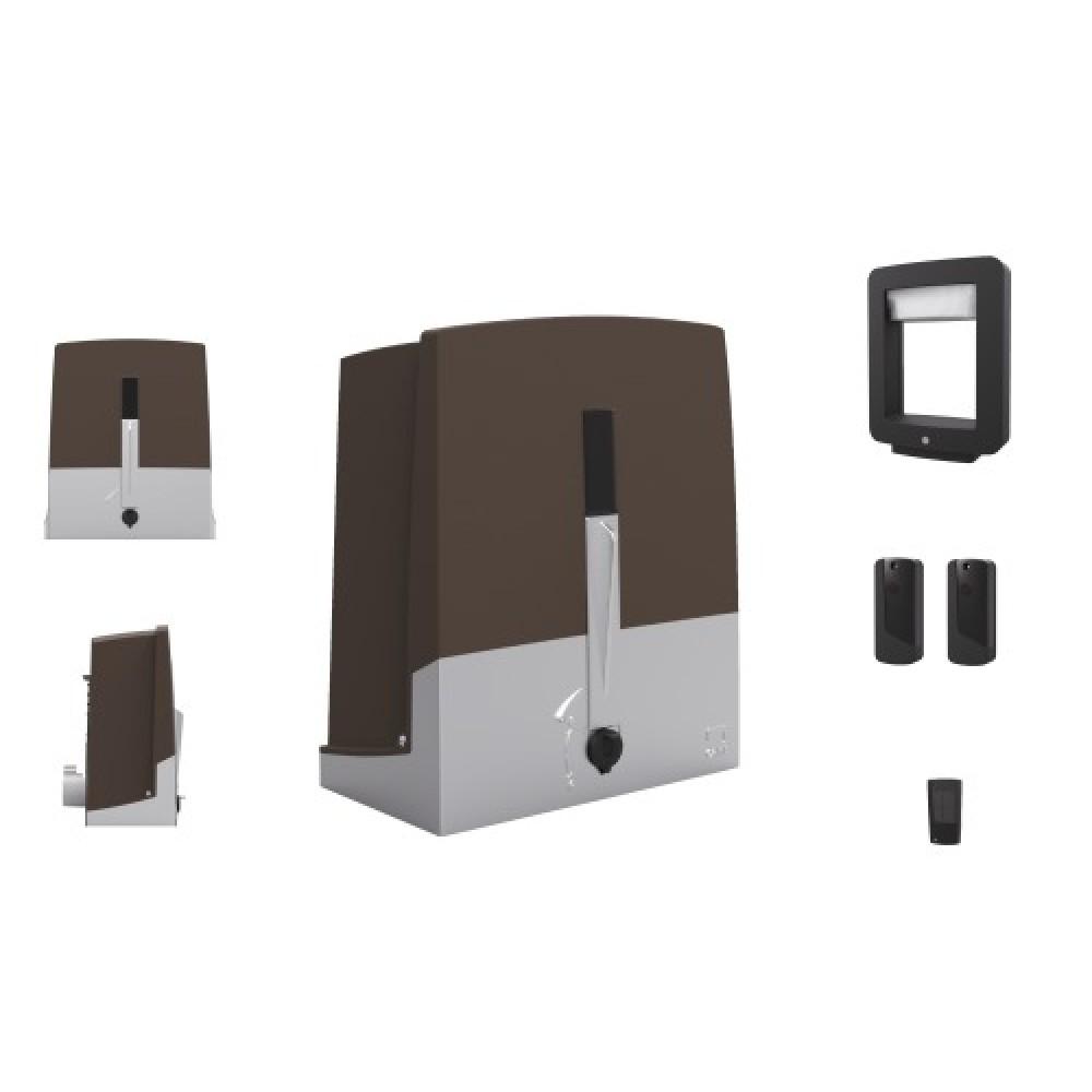 automatisme de portail coulissant 24 volts charge 400 kg. Black Bedroom Furniture Sets. Home Design Ideas
