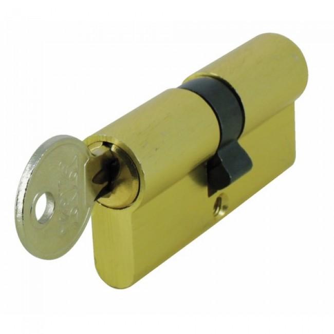 Cylindre double à usage provisoire - 30 x 40 mm - spécial chantier SIMILAIRE