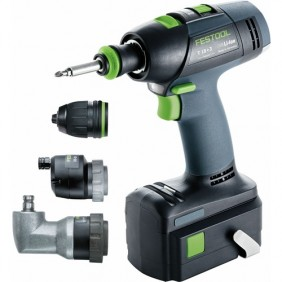 Perceuse visseuse sans fil 18V T18 + 3 Li 5,2 Set FESTOOL