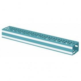 Goulotte de câblage bleu - Lina 25 LEGRAND