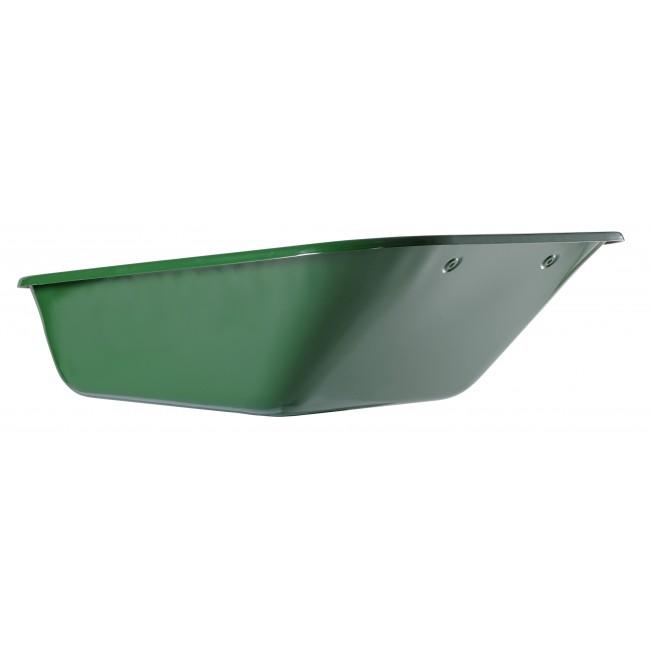 Caisse de brouette 160 L peinte verte pour Expert Twin HAEMMERLIN