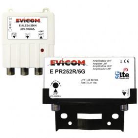 Kit préamplificateur LTE 5G et alimentation 24 V EVICOM