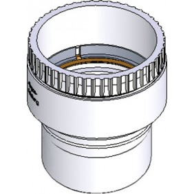Adaptateur flexible/rigide pour tubage de chaudière - Isocox PPS TEN