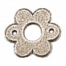 Rosace fleur fer patiné cémenté type 1302 (x100) BOUVET