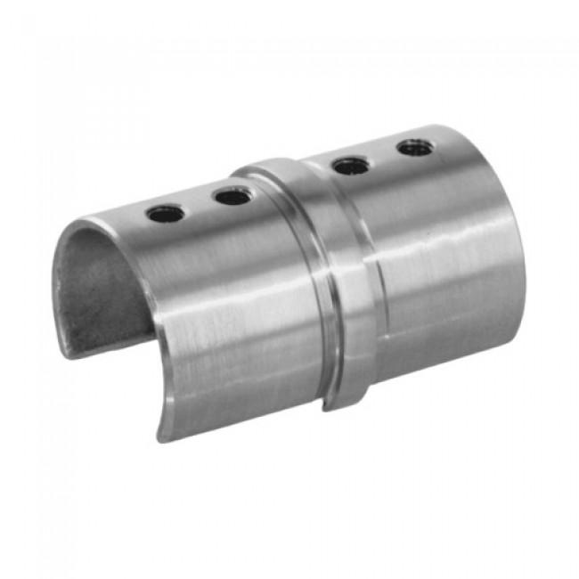 Raccord main courante - rond - diamètre 42,4 mm - inox 304 Design Production