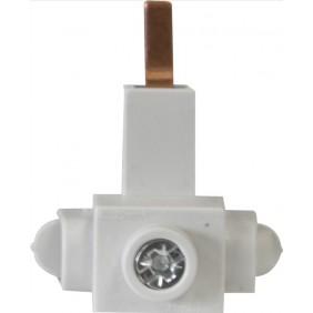 Raccordement disjoncteur latéral - 24 mm - PIN Conector AEG