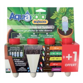 Cône Aquasolo pack 3+1 ROUGE Taille XL AQUASOLO BY HOZELOCK