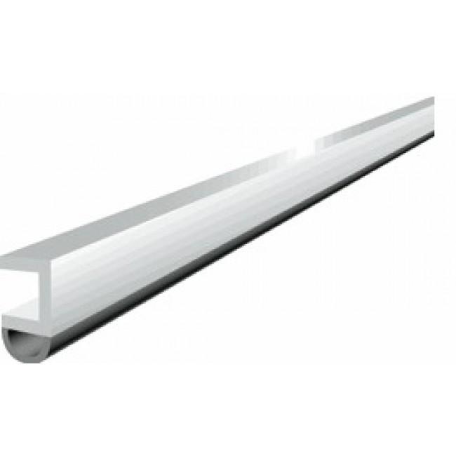 Profil d'encadrement de porte en PVC avec joint souple - PTS-N ELLEN