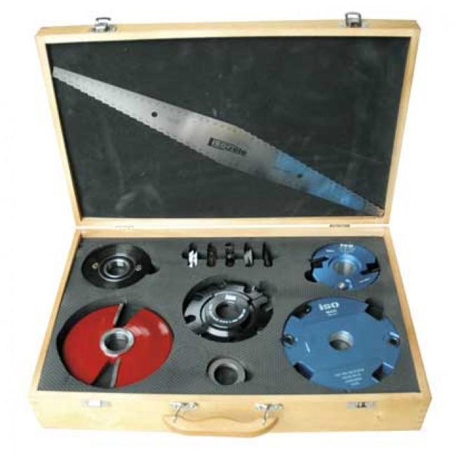 Coffret de 13 outils pour combiné à bois l'Essentiel LEMAN