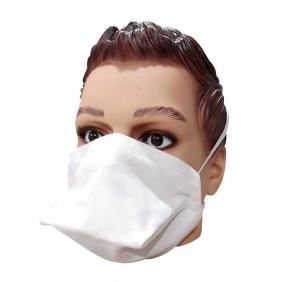 Masque bec de canard en tissu lavable et solidaire La Chiffo