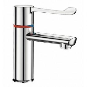 Mitigeur de lavabo thermostatique séquentiel - anti-brûlure - Securitherm DELABIE