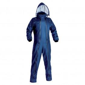 Combinaison de pluie étanche à capuche DIFLEX Bleu ARCOTEK