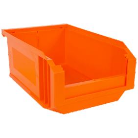 Bac à bec European 23 litres Orange fluo NOVAP