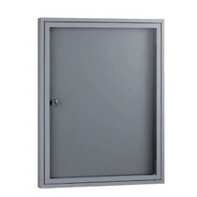 Tableau d'affichage - vitre plexiglas - fond magnétique DECAYEUX