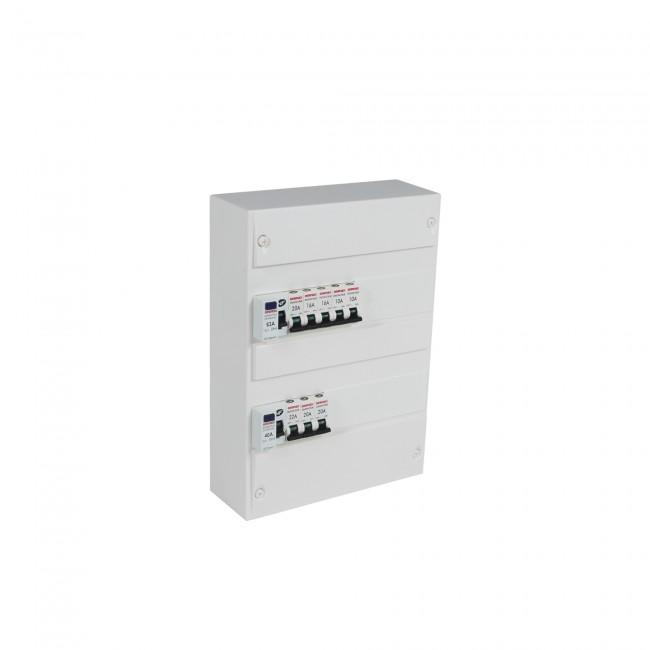Coffret électrique - pré-équipé - capacité 26 modules DEBFLEX