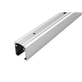 Rail supérieur de porte coulissante - en applique - Proslide profil ARGENTA