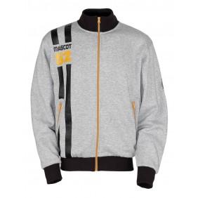 Sweatshirt zippé MASCOT® Fundao - Gris chiné MASCOT