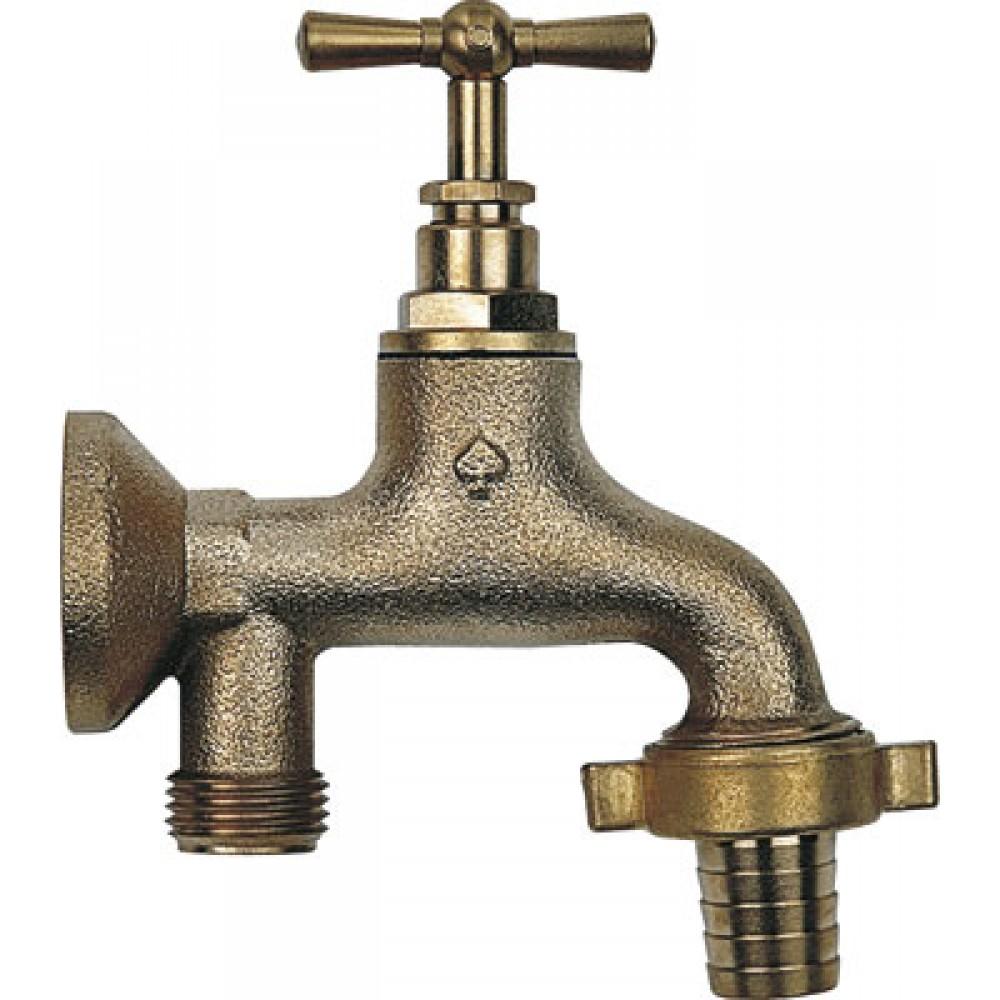 Robinet d 39 arrosage monobloc avec applique porquet bricozor for Applique murale pour robinet exterieur
