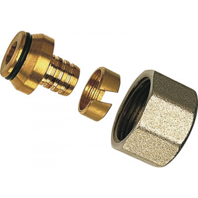 Raccord à compression pour PER - diamètre 12 mm RBM