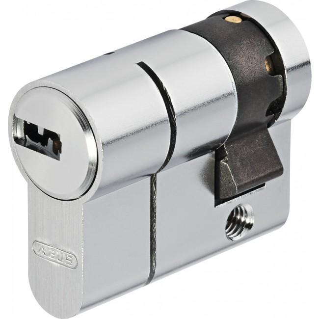 Cylindres D6PS simples variés en laiton nickelé 5 clés ABUS