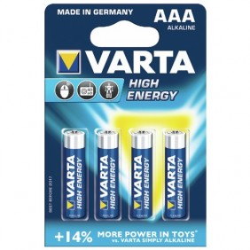 Piles alcalines - High Energy VARTA