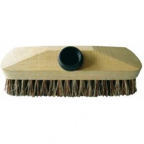 Brosse lave-pont - monture bois - avec douille à vis BRICOZOR