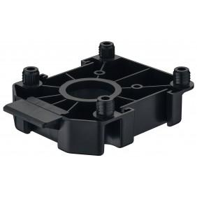 Embase pour pieds de meubles AXILO™ 78 - plastique noir HÄFELE