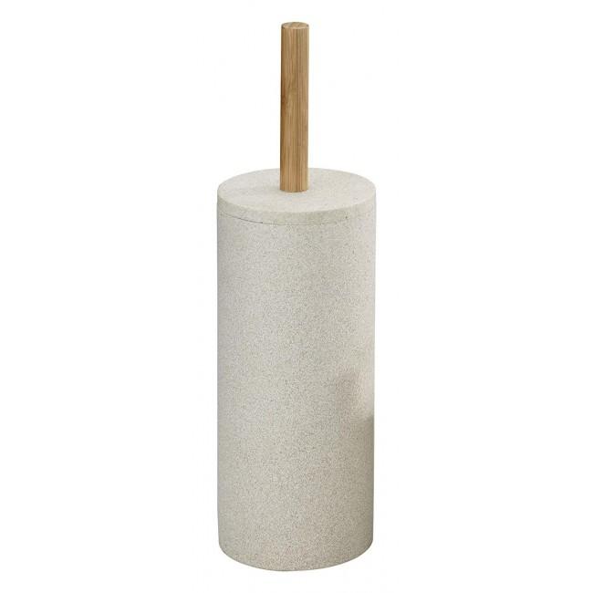 Brosse WC à poser - Vico - Polyrésine aspect sable WENKO