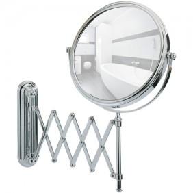 Miroir grossissant x5 - Deluxe - support mural télescopique WENKO