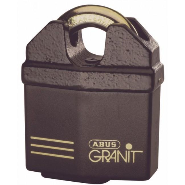 Cadenas à clé - haute protection - anse protégée - Granit™ - 37/60 ABUS