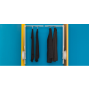 Penderie escamotable simple 12 kg - fixation latérale - LIFT AMBOS