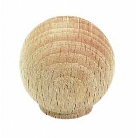 Bouton de meuble boule hêtre CADAP