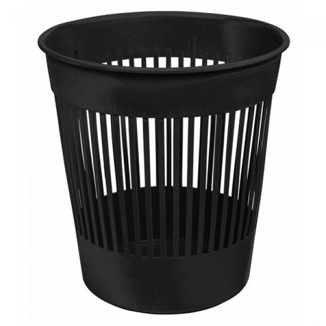 Corbeille à papier plastique - capacité 12 litres BRICOZOR
