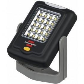 Lampe torche - 20 + 3 LED SMD - crochet pliable et orientable à 360° BRENNENSTUHL