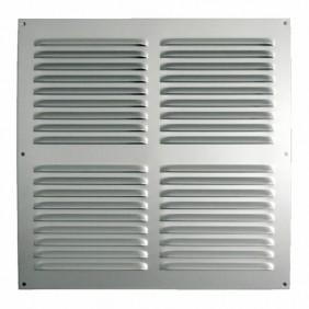 Grille de ventilation à persiennes en aluminium - sans moustiquaire BRICOZOR
