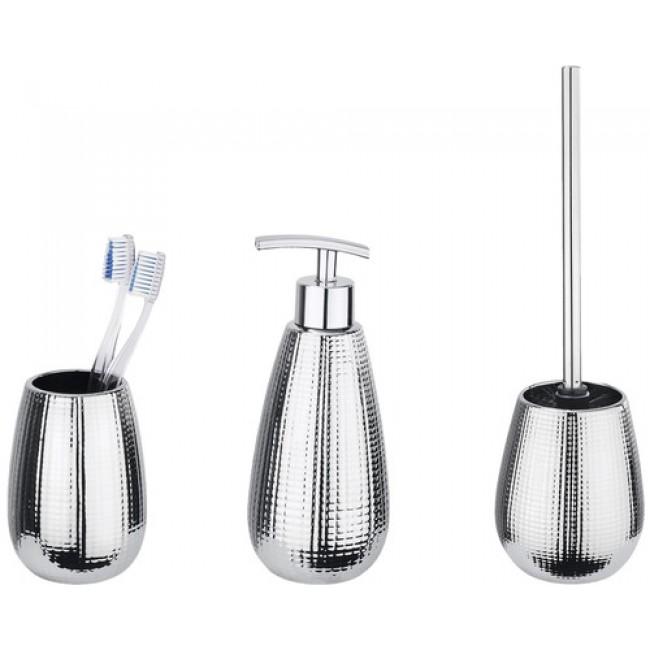 Accessoires de salle de bains - Dakar - 3 pièces WENKO