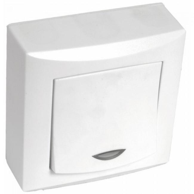Commandes d'éclairage lumineux complètes saillie Vision blanc EUROHM